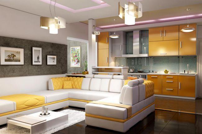 Фото - Кухня поєднана з вашої вітальні