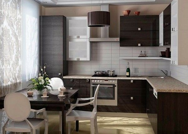 кухня в японському стилі дизайн фото