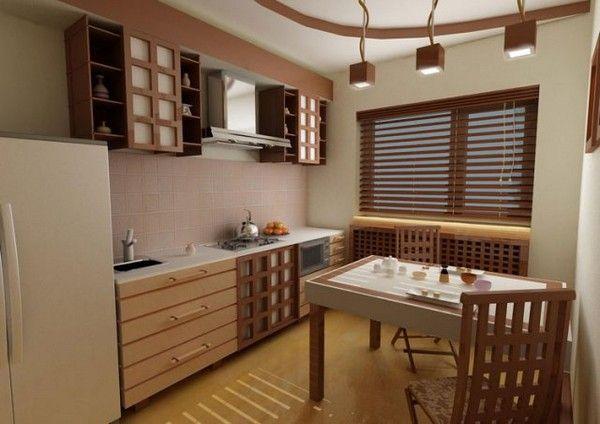 японський стиль в інтерєрі кухні фото