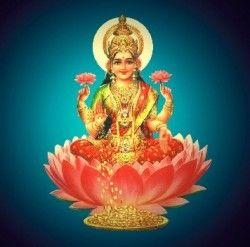 Фото - Лакшмі - богиня щасливої   долі і процвітання