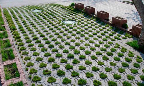 Ландшафтний дизайн із застосуванням тротуарної плитки