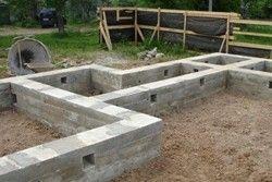 Фундамент для лазні своїми руками: визначаємо тип ґрунту, готуємо котлован, розчин ....