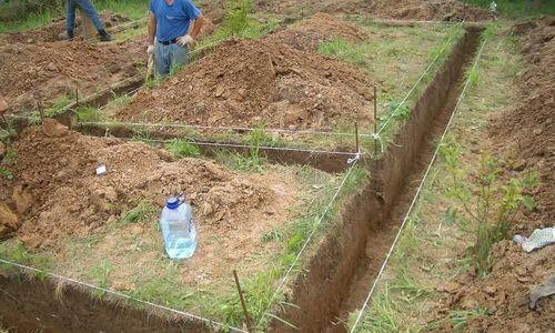 Фото - Стрічковий мелкозаглубленний фундамент на глинистих ґрунтах