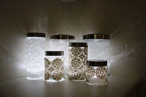 Фото - Робимо своїми руками декоративні світильники з непотрібних речей