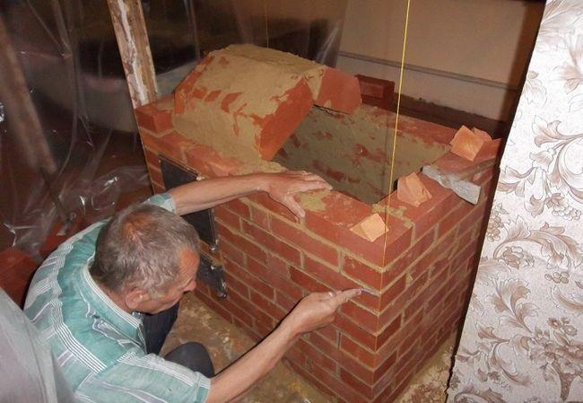 Будівництво печі
