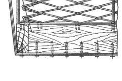 Схема формування дивана на пружинному блоці