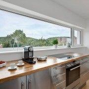 Панорамне вікно на кухні