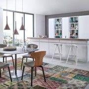 Змішання стилів в оформленні кухні