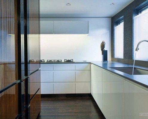 Контраст в кухонних меблів