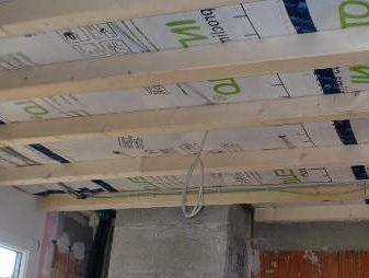 Деревяний каркас під підвісну стелю