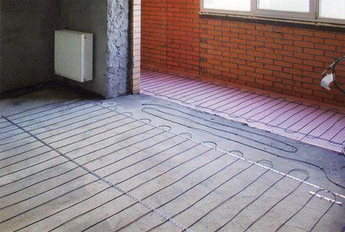Фото - Монтаж електричної теплої підлоги