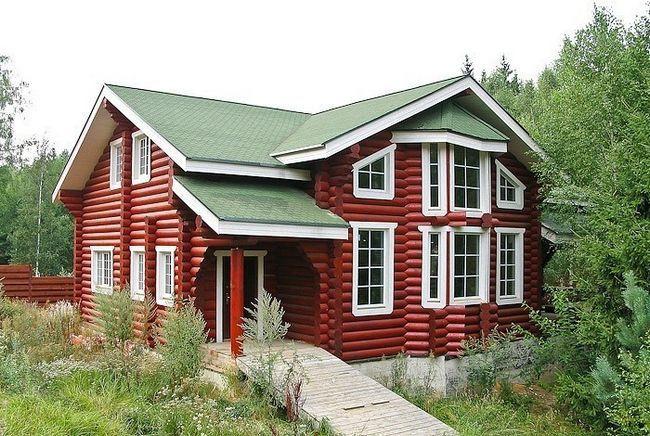 Фото - Монтаж вікон в дерев'яному будинку