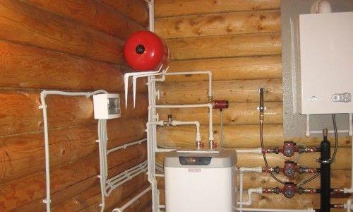 Фото - Монтаж опалення в дерев'яному будинку