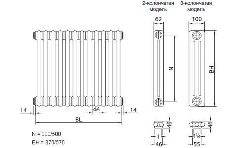 Монтаж розводки і радіаторів опалення