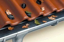 Варіанти розташування водостоків на даху
