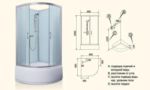 Фото - Монтаж заводських душових кабін