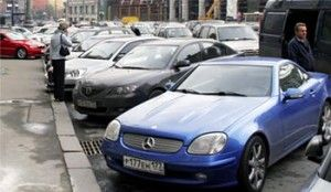 Москвичам ніде паркуватися