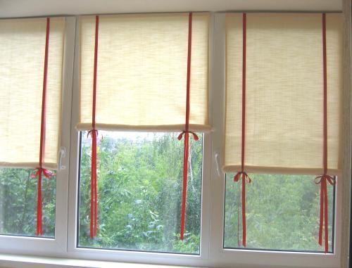 Фото - Чи можна зшити рулонні штори своїми руками?