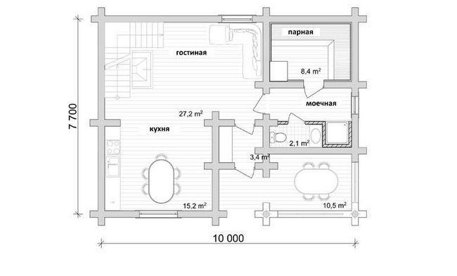 Фото - На що звернути увагу при плануванні гостьовий лазні?