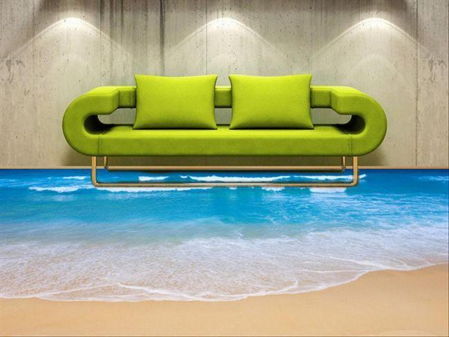 Фото - Наливні полімерні підлоги в квартирі - чудеса нових технологій