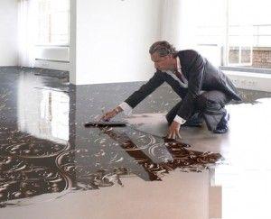 Фото - Наливні підлоги 3д: технологія укладання такого покриття
