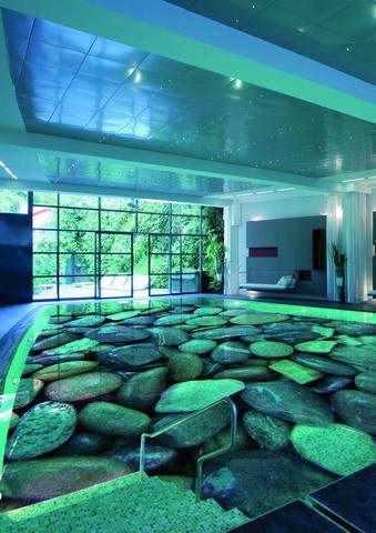 наливні 3д підлоги технологія