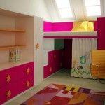 Інтерєр дитячої кімнати для дівчинки