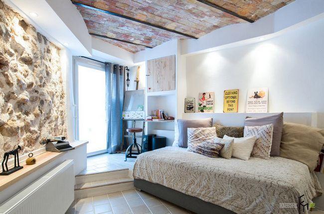 Фото - Стиль лофт в інтер'єрі сучасної спальні