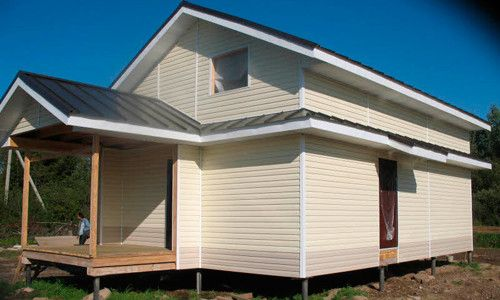 Фото - Зовнішнє облицювання каркасного будинку