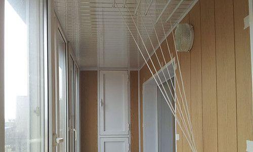 Фото - Натяжні стелі на балконі