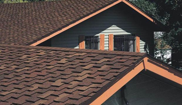 Фото - Недорога дах з гнучкої черепиці та металочерепиці