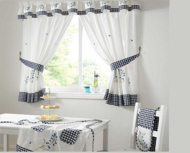 Фото - Незвичайні штори для кухні та спальні своїми руками