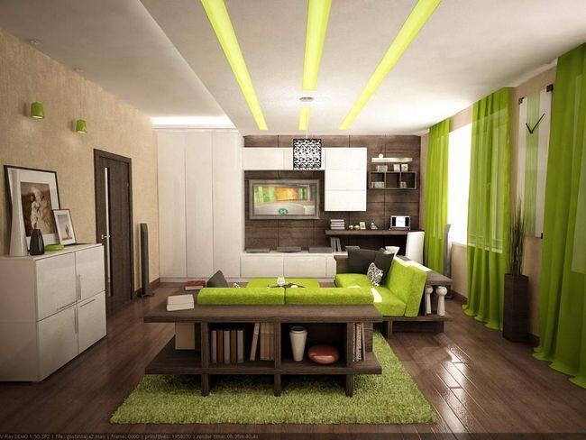 Фото - Неповторний дизайн для вітальні