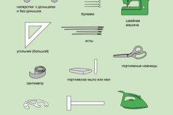Інструменти для пошиття австрійських штор