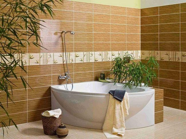 Кілька варіантів облицювання плиткою ванної кімнати