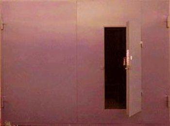 Фото - Нестандартні гаражні розпашні ворота: розмір має значення