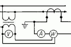 Вимірювальний трансформатор струму. схема включення