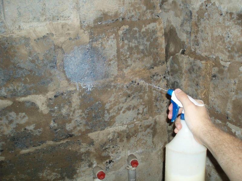 Грунтовка стін розпилювачем