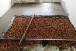 Фото - Про керамзиті над системою теплої підлоги і товщині стяжки