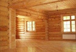 Фото - Про підлогах в будинку з бруса