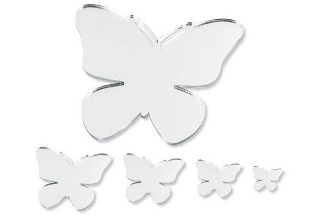 наклейка метелик