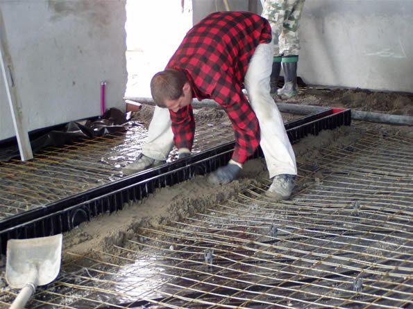 Фото - Устаткування бетонної підлоги в гаражі