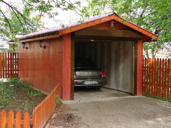 Фото - Устаткування під'їзду до гаражу