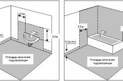 Фото - Обшивка стін гіпсокартоном у ванній кімнаті з полками і нішами