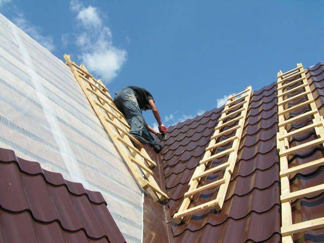 Фото - Облаштування даху з профнастилу своїми руками