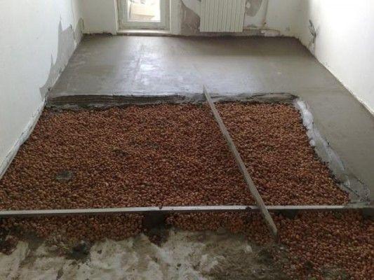заливка підлоги з керамзитом