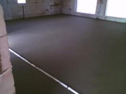 стяжка підлоги технологія