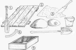 Матеріал і Інтрументи для замісу