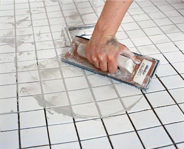 Очищення плитки від цементу