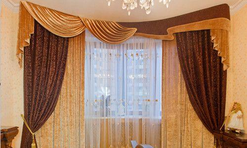 Фото - Офомленіе гардин для спальні